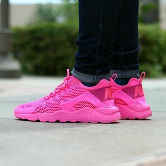 Nike Huarache Run Ultra Breathe PINK BLAST